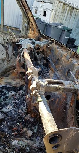 Incendie voiture oise